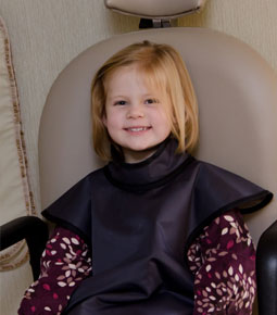 Photo of girl in dental chair