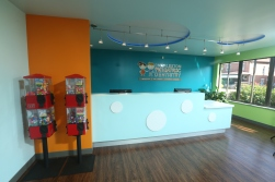 Photo of front desk