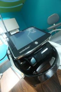 Picture of WaterLase laser treatment machine.